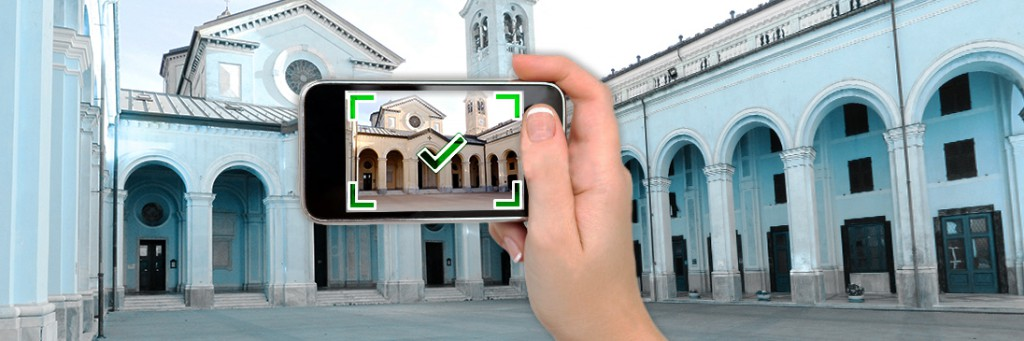 Users can capture real world data from digital cameras or smart phones.